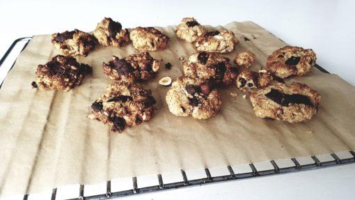 Choco pindakaas koekjes