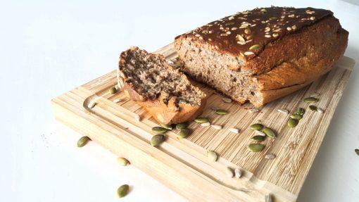 Gezonde bakmix Banenenbrood