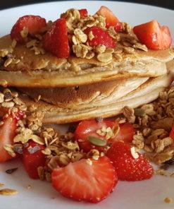 gezonde bakmix eiwitrijke pannenkoeken