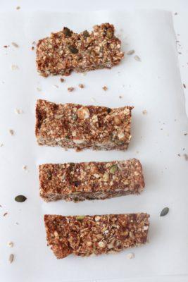 Pindakaas granola repen