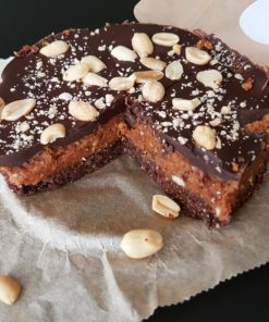 Vegan Snickertaart