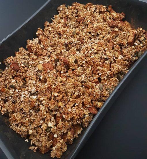 Gezonde bakmix glutenvrije granola
